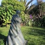 Statues in summer garden