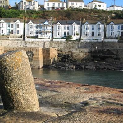 Harbour of tremendous granite blocks