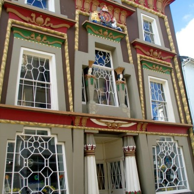 The quirky Egyptian House in Chapel Street Penzance