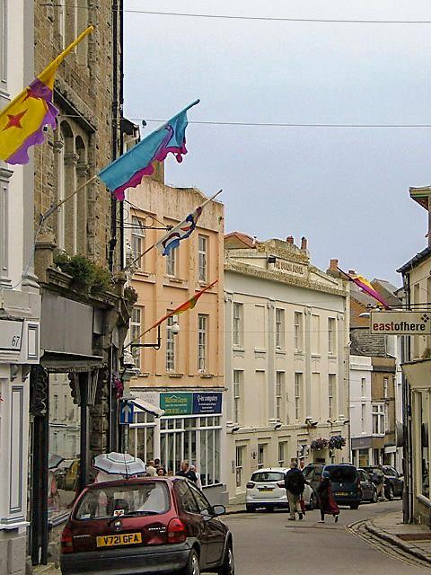 Chapel street the original main street of Penzance stannery town