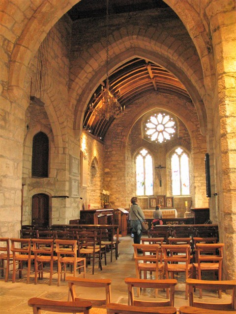 Our visit to St Michael's Mount Priory Chaurch