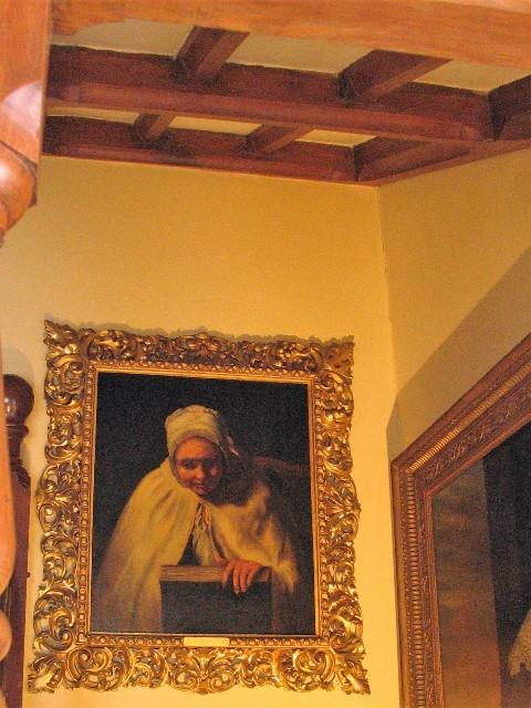 Oil painting Dolly Pentreath the last Cornish speaker