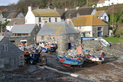 Traditional fishing harbour and village - Cadgwith