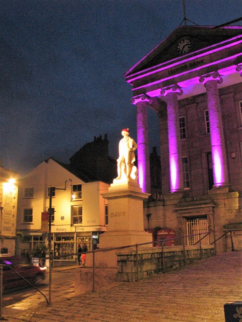 Humphry Davy statue Penzance