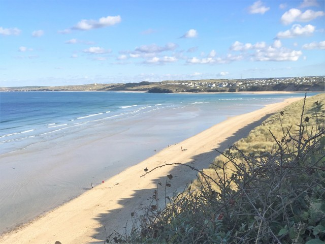 silver sands of St ives bay