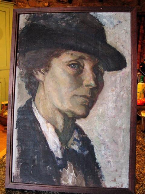 Portrait of a woman - dianna white