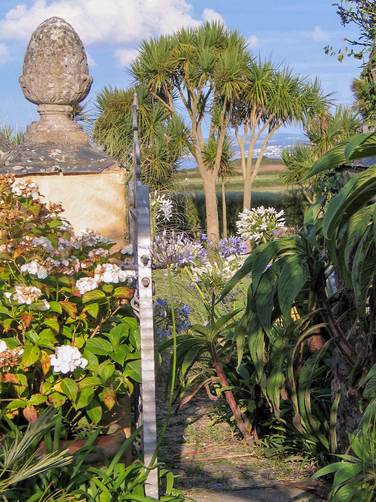 Gateway to an open garden