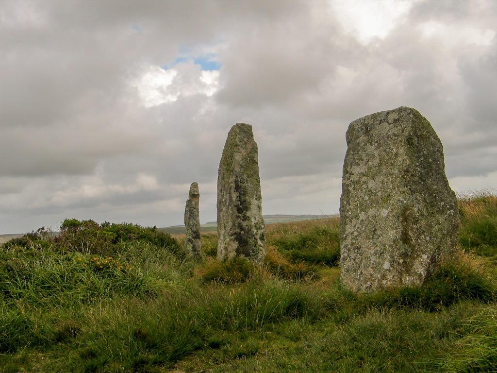 ancient stone circle - boskednan
