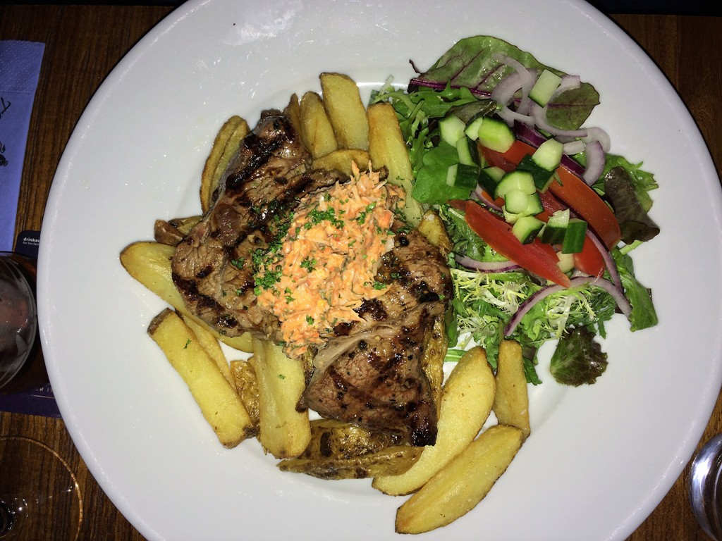 Where - to eat - Surf and Turf - The Kings Arms