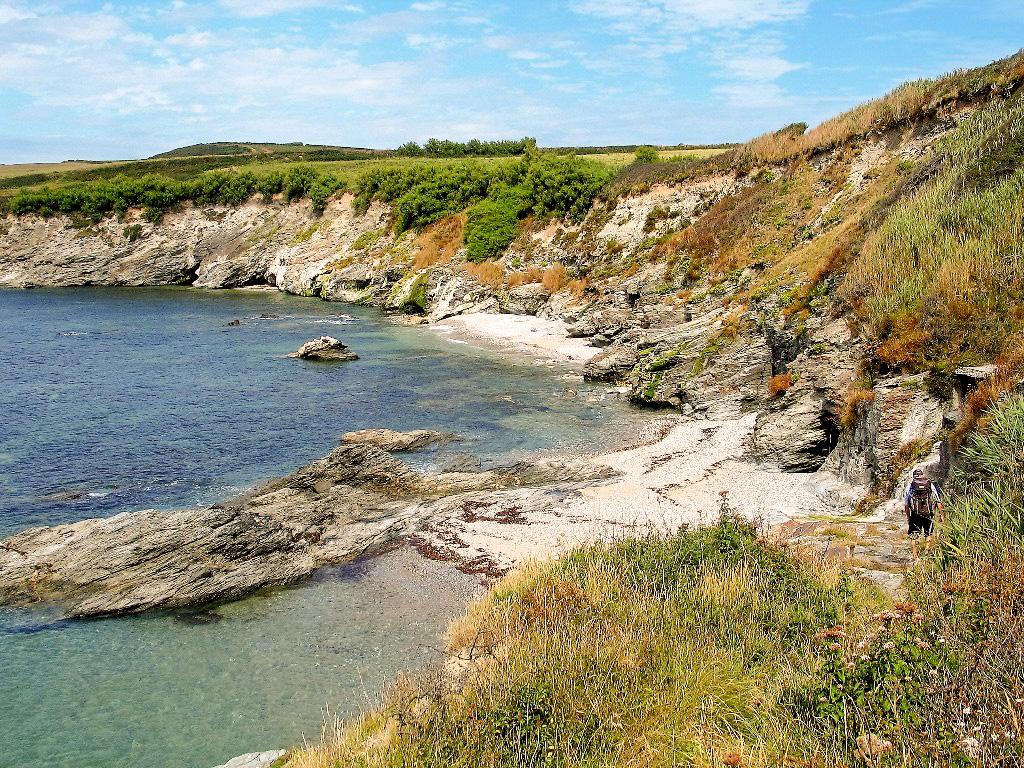 Memory of Stackhouse Cove -beaches and sea caves
