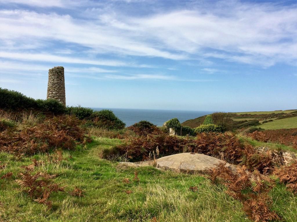 Bosigran/Porthmeor Tin stamps - world heritage site