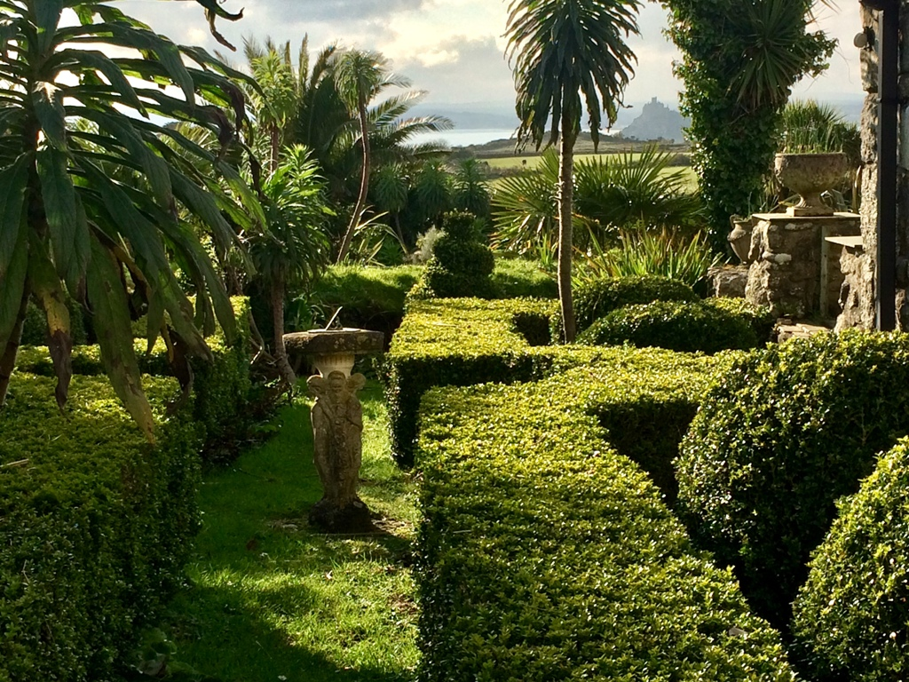 The Ednovean Farm garden is full of the spirit of Mounts Bay this Easter