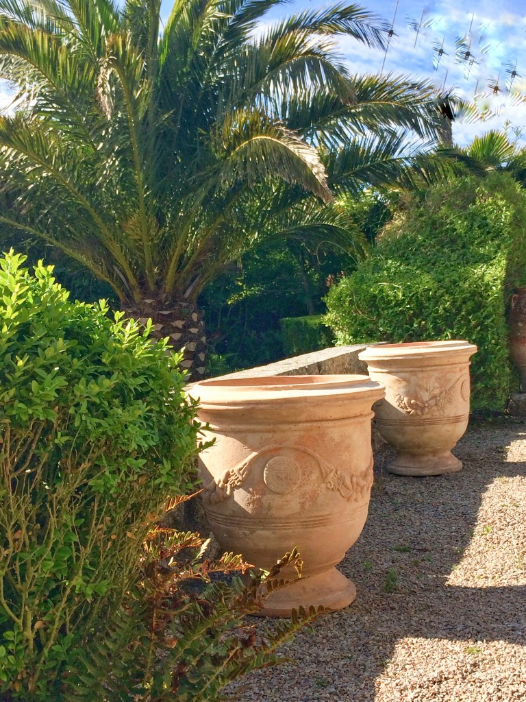 French Pots and anniversary present for Ednovean Gardens