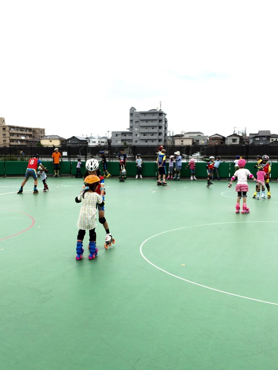 平成30年7月1日(日)初心者ローラースケート・インラインスケート教室