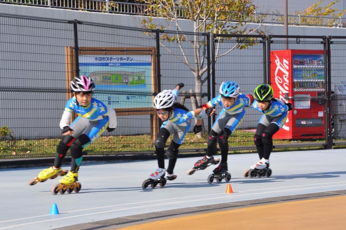 第70回江戸川区総合体育祭(春季区民大会)ローラースケート大会