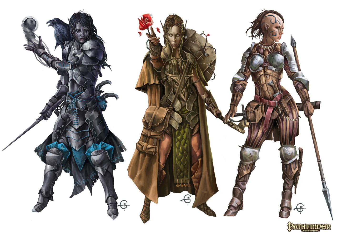 Long Winter Campaign – Paladins, Rangers & Druids
