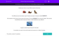 Plant and Animal Habitats Worksheet - EdPlace