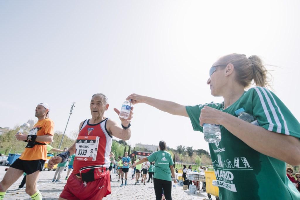 Voluntarios Madrid Maratón
