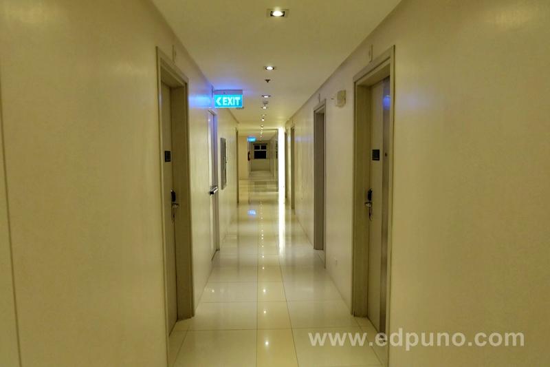 hallway at Injap Tower