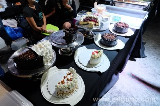 cakes at gustos food market
