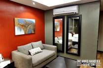 mini living room area