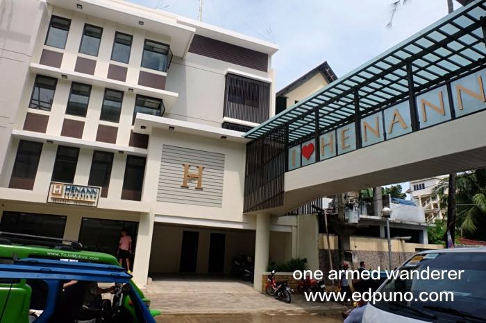 Henann Prime Beach Resort building in main road Boracay