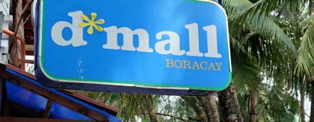 D' Mall at Station 2 Boracay