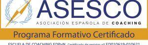 ESCUELA DE COACHING EDPyN Logo Certificado de registro ED010619-010621