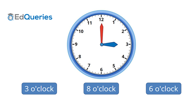 Screen shot of an educational game abot time and clocks