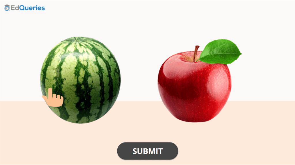 Select Bigger object