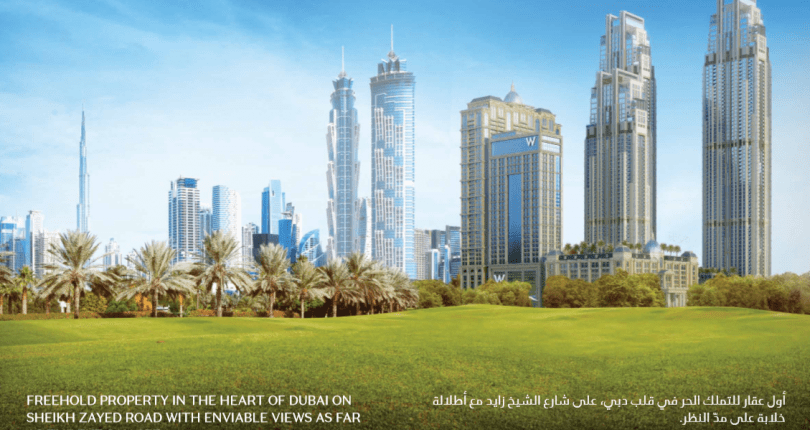 Move in now to Al Habtoor City by SZR and Dubai Canal
