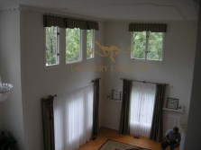 Shaped valances and shorted drapes alterations 11