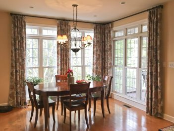 Accent Panels for Sunroom Corner windows