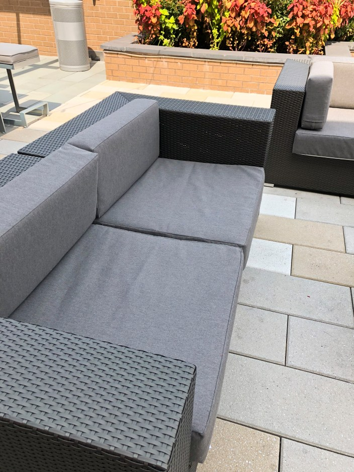 Out Door Cushions with Special fabric & Foam