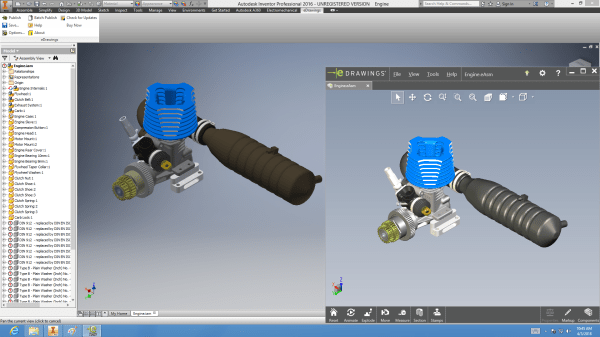 Edrawings Autodesk Inventor Publishers