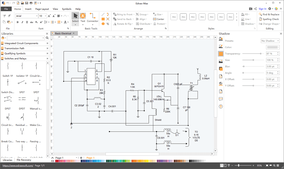 Create Schematic Diagrams Easily