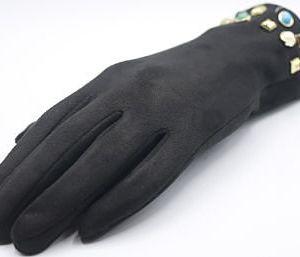 gants noir et perles e dressing des copines
