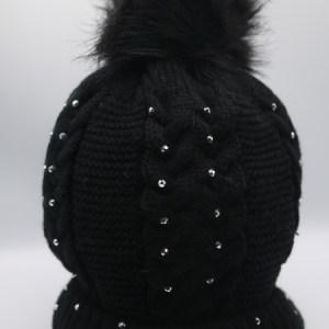 bonnet strassé torsades e dressing des copines