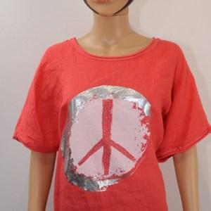 tunique peace and love e dressing des copines