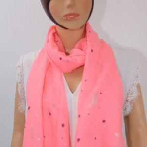foulard à pois e dressing des copines