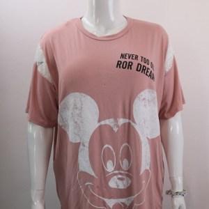 tee-shirt mickey dentelle e dressing des copines