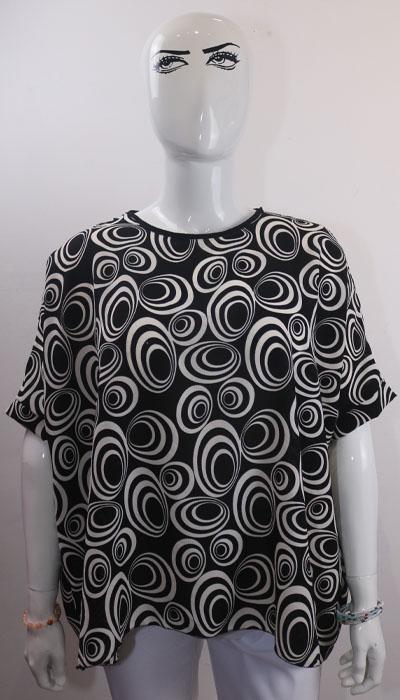 blouse imprimée e dressing des copines