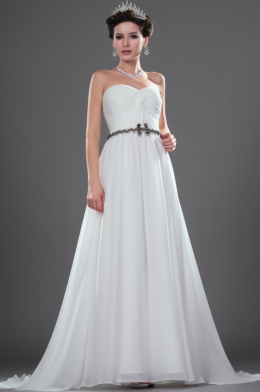 Edressit Simple Yet Elegant Strapless Wedding Dress (01111707