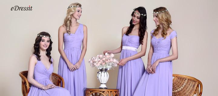 Brautjungfer Kleider in Lavendel Farbe whlen ein besten Farbtne auf dom Planeten  edressitde