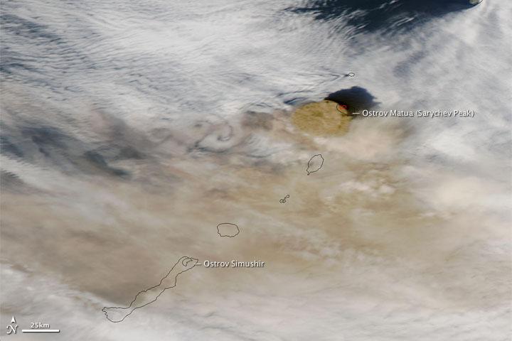 sarychev Peak june 14 UTC