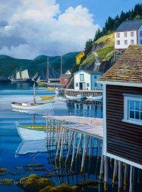 Bonavista Bay - Ed Roche Newfoundland Art