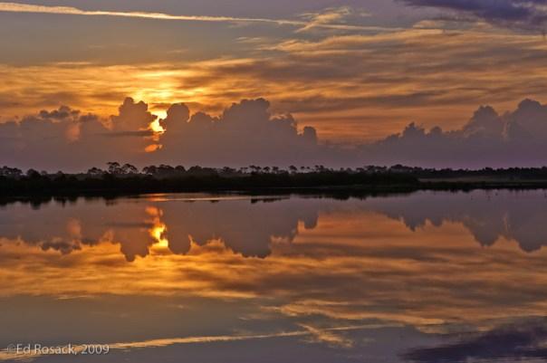 Mandelbrot Sunrise at Black Point