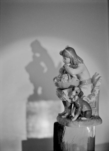 Figure, Pen FT, 40mm f1:1.4 lens, Kodak BW400CN film