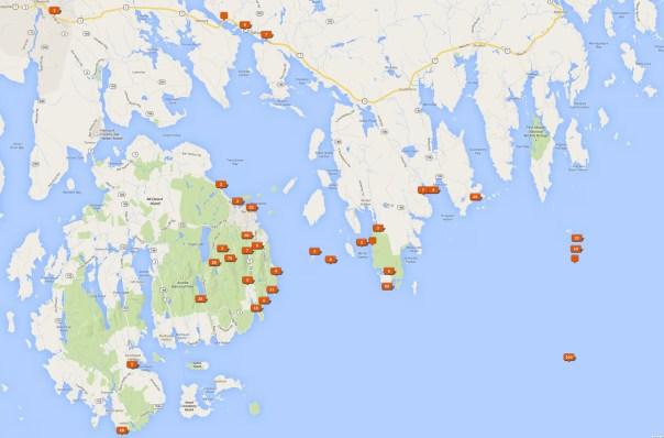 Acadia National Park Photo Locations