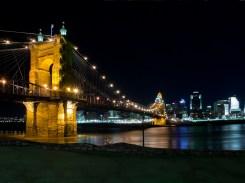 Cincinatti Ohio - Roebling Bridge